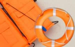 Ship chandler Life vest, lifebuoy