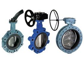 Ship chandler Double flange valve